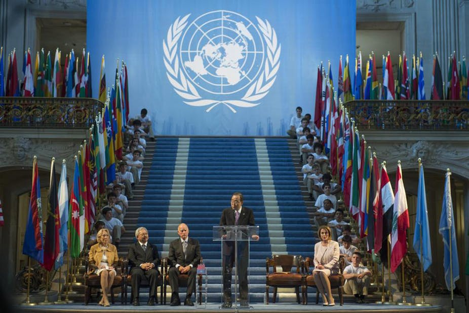 Conference of UN for human rights